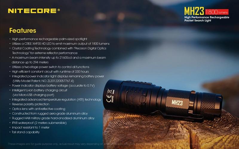 Nitecore MH23 Pocket Search Light (19)