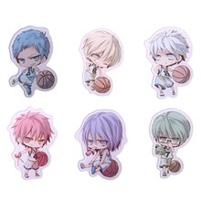 1pc Fashion Cute Q Version Characters Pendant Basketball Badge Brooch Funny Decoration Boy Gift Cute Person Version Brooch(China)