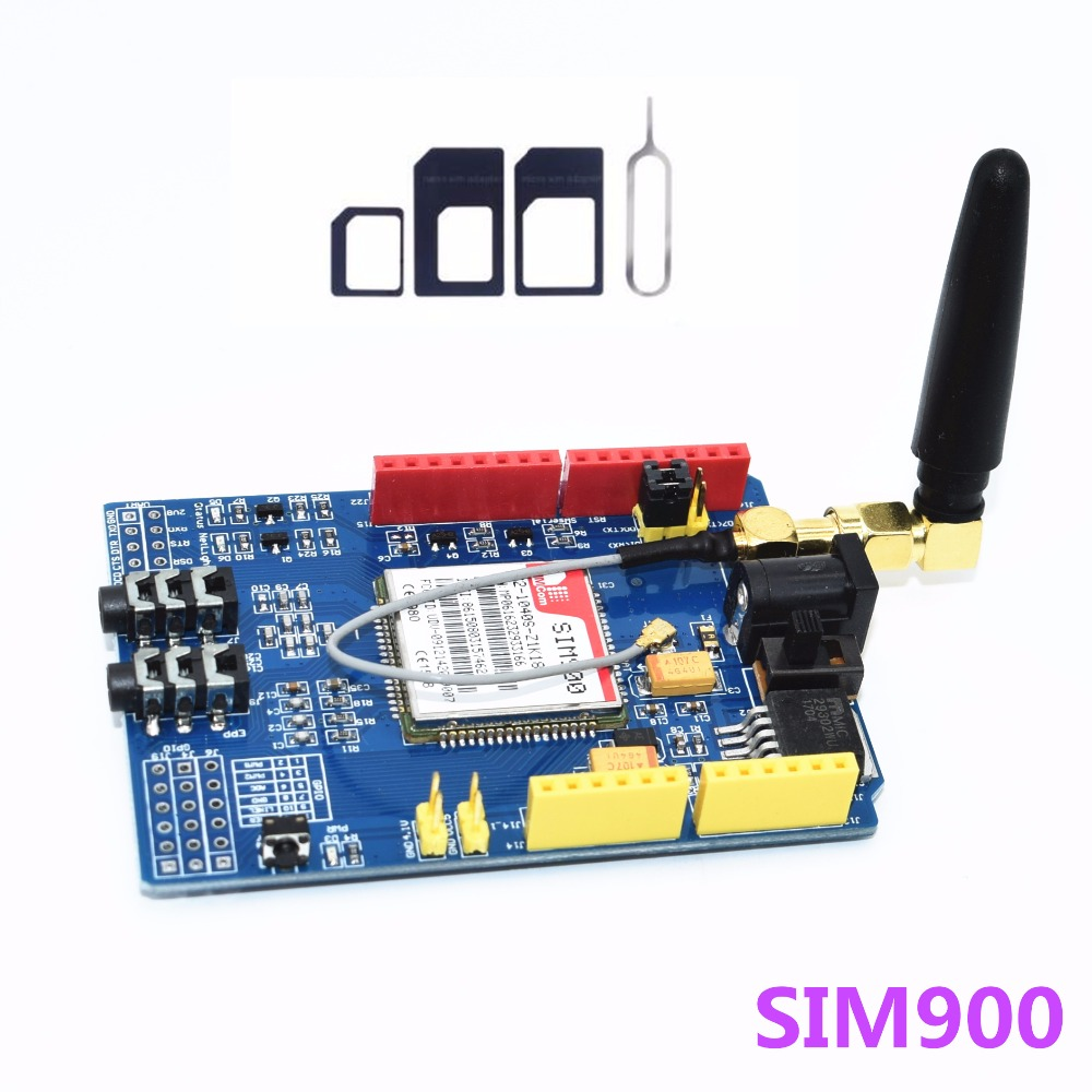 SIM900 GPRS/GSM Shield Development Board Quad-Band ModuleSIM900 GPRS/GSM Shield Development Board Quad-Band Module