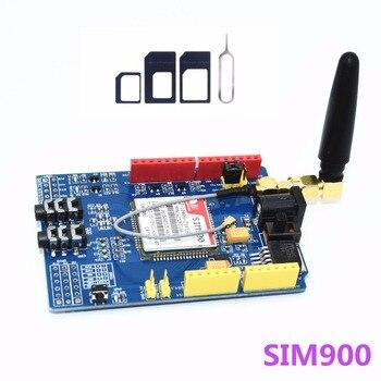 SIM900 GPRS/GSM escudo Placa de desarrollo Quad-Módulo de banda