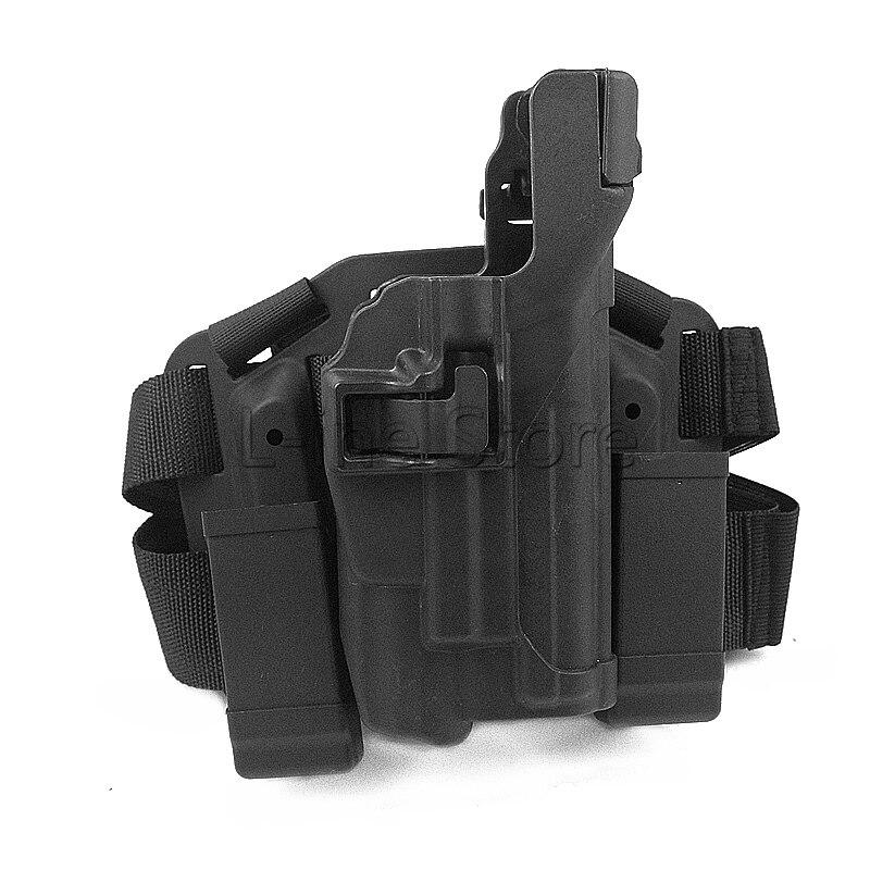 Jambe de baisse Étui Tactique Holster Platform pour SIG SAUER P226 P220 pour La Chasse Paintball