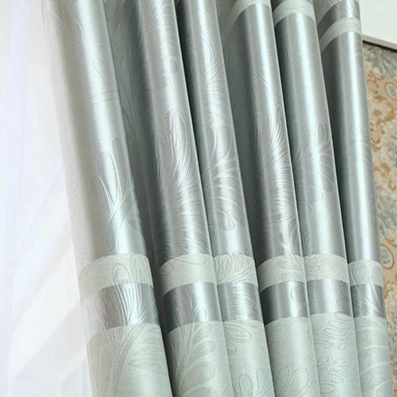 Qanhu Красочные Современные тканевые шторы затемненные серебристо-розовые занавеска для дома отвесные жалюзи для детей спальня гостиная