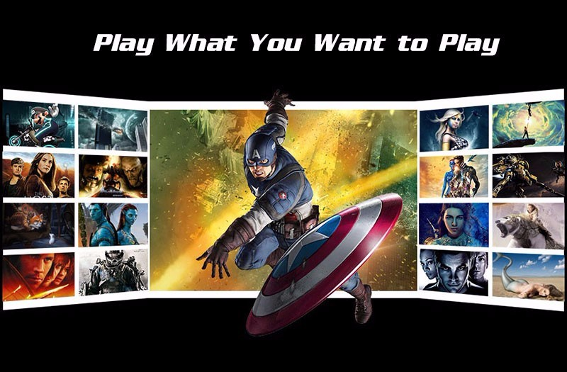play what you want to play