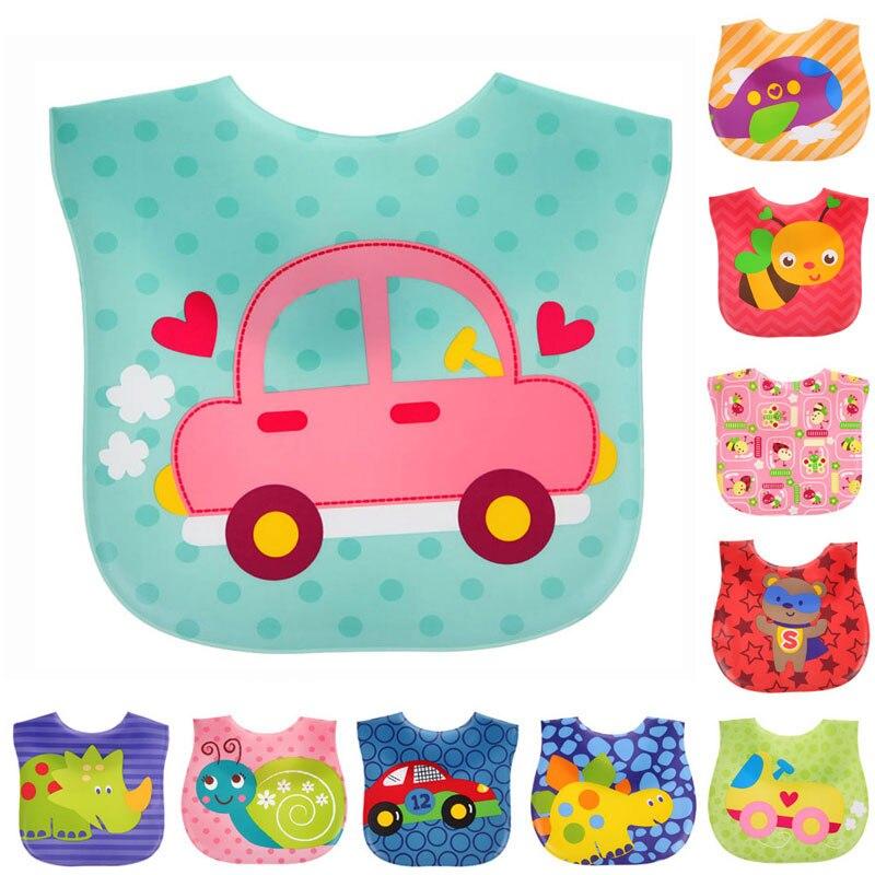 Baby bibs waterproof cartoon children bibs infant burp cloths brand