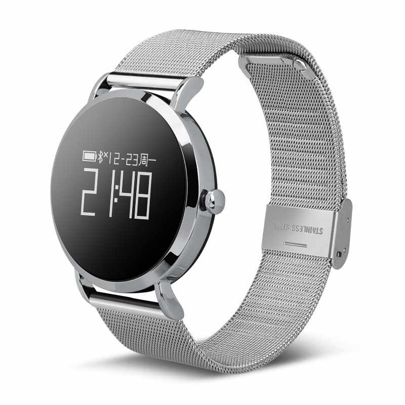 Ravi CV08 Classic Smart Watch Men Women Blood Pressure Heart Rate Monitor Sport Fitness Tracker Smartwatch Connect Andriod IOS