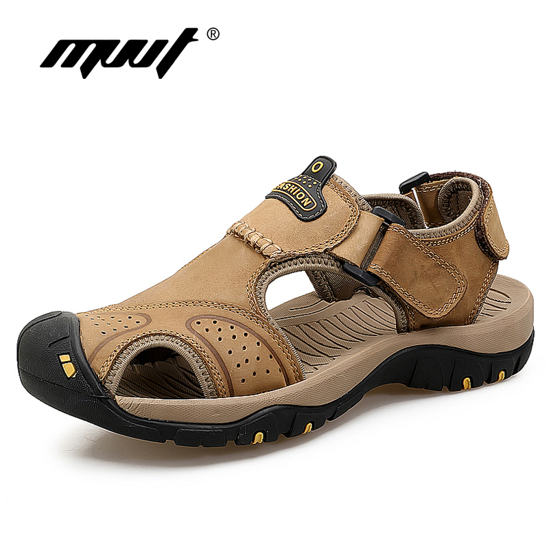 Classic Quality Genuine Leather Sandals Mens