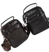 New Men Genuine Leather Cross Body Messenger Shoulder Casual Handbag Belt Hip Waist Pack Fanny Bag