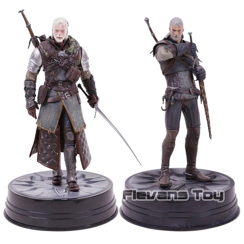 Dark Horse Deluxe The Witcher 3 Wild Hunt: Geralt & Grandmaster Ursine Figure Collectible Model Toy