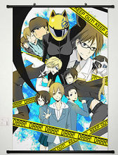 Anime DuRaRaRa Celty Sturluson Home Decor Japan Poster Wall Scroll Cosplay 082