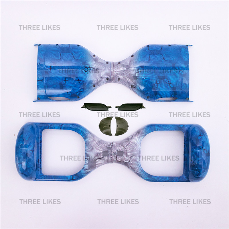 """Prix pour Bleu Remplacement Couverture Boîtier Externe Shell pour 6.5 """"Hoverboard Auto Équilibrage Scooter Deux Roues Électrique 2 Roues Conseil Accessoires"""