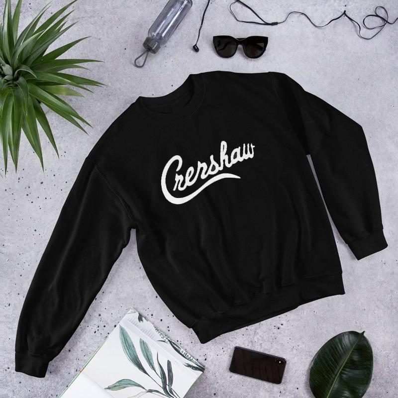 Crenshaw Nipsey Hussle Crewneck Sweatshirt Mens Hoodies Hip Hop Hoodie Xxxtentacion Streetwear Stray Kids Harajuku Men Clothes