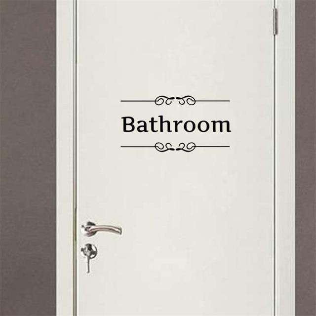 Bad zitieren charaktere wandaufkleber vinyl pvc wc badezimmer ...