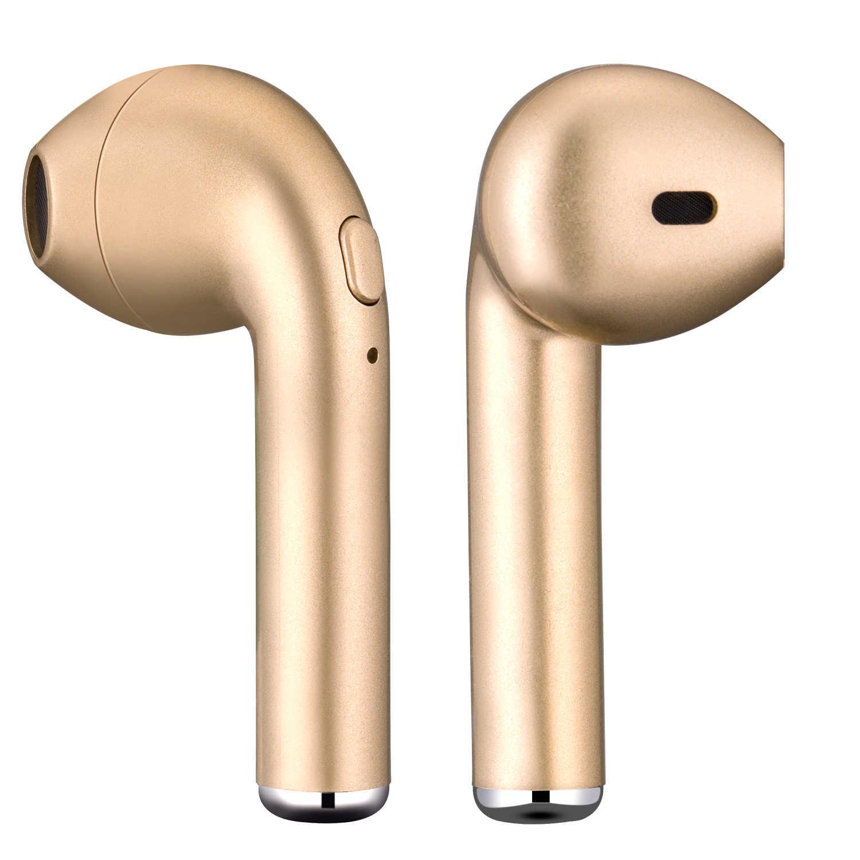 I7 I7S TWS Bluetooth ヘッドフォンワイヤレスイヤフォンポータブルヘッドセット電話イヤホンとすべてのスマートフォン用マイク fone のデ