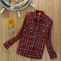 2017 Kids Spring Autumn Cotton Classic British Plaid Shirts Baby Boys Girls London Style Checkered Shirt Bottom Wear Blouse