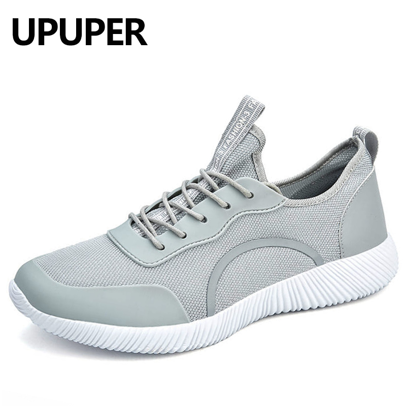 Big Size:36-48 Men Sneakers Shoes 2018 Spring Summer Men Casual Shoes Lace-up Breathable Ultralight Flats Shoes Fashion Footwear new casual shoes men sneakers spring summer breathable soft lace up platform flats shoes black high quality fashion shoes h693