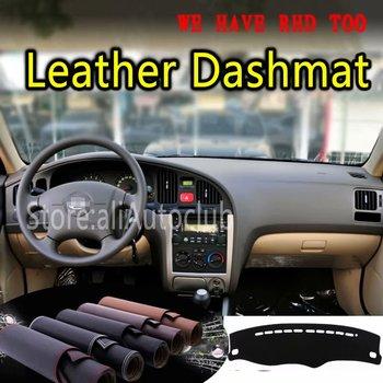For Hyundai Avante Neo Fludic Elantra I35 2000-2006  Leather Dashmat Dashboard Cover Dash SunShade Carpet Custom Car Styling