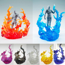 цена на Tamashii EFFECT Impact BURNING FLAME Toys Fix Play Arts Action Figure Figma Bandai Gundam Naruto Dragon Ball Figure Kamen Rider