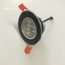black surface Sale Led Spotlight Ceiling Lights  4pcs Lot Down Power Warm Color With Epistar 300-360lm High Brightness