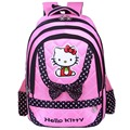 Nuevo estilo de moda hello kitty mochila mochila bolsa de hombro bolsos de escuela lindos adolescentes mochila feminina mochilas infantis