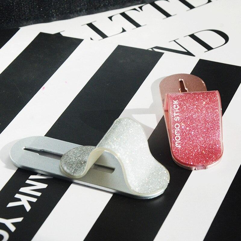 Finger Ring Holder Mobile Phone Ring Grip Glitter Multi Band Universal Phone Grip Gift Telescopic Stand Gife Back Sticker
