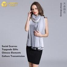 Yopota кашемировые роскошные шарфы многоцелевой длинный платок сохраняющие тепло модные высококачественные шарфы первоклассный подарок