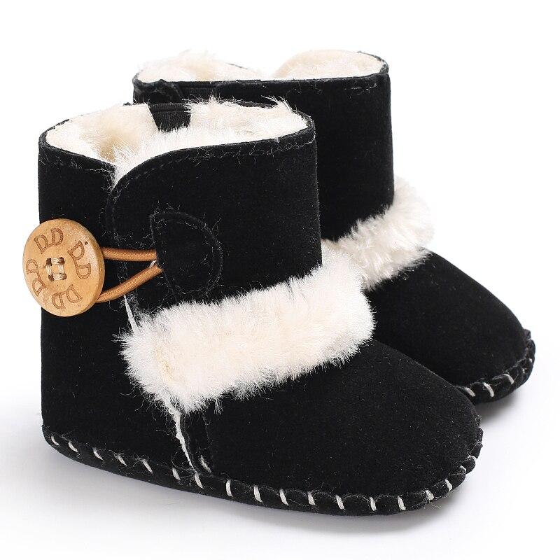 bc3cb80f6bbbd ∞Nouveau-né D hiver Bébé Chaussures Chaussons Bébé Garçons Filles ...