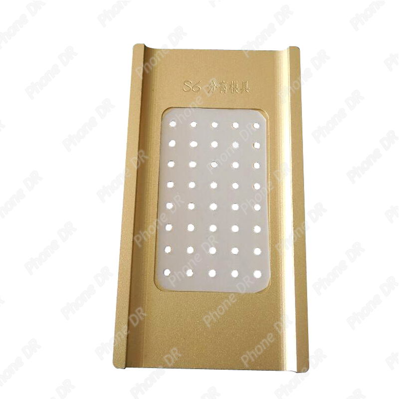 1pcs Vacuum For Samsung S6 Edge G9250 Metal Mold Mould LCD Screen Laminating and Positioning Alignment with hold and tap