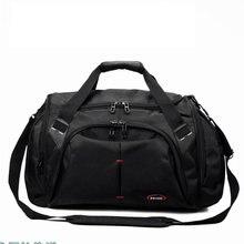 цены 39L Training Luggage Sport Bag Waterproof Oxford Gym Crossbody Bag Men Women Travel Storage Single Shoulder Bag Fitness Handbag