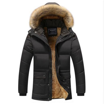 2018 Winter Men Down & Parkas Cotton-padded Jackets Men' s Casual Down Jackets Thicken Coats OverCoat Warm Clothing Big 5XL