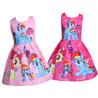 70523238f Kids Dresses for Girls Children Unicorn Birthday Dress Clothes ...