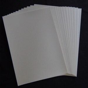 Image 2 - (20 גיליונות/הרבה) a4 גודל הזרקת דיו מגלשת מים מדבקות העברת נייר לבן רקע העברת נייר מגלשת מים מדבקות PrintingPaper