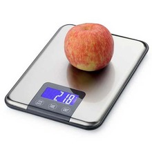15KG 1g precision Digital Kitchen Scale 15kg Big Food Diet Weight Balance Slim Stainless Steel Electronic Scales weighing scale