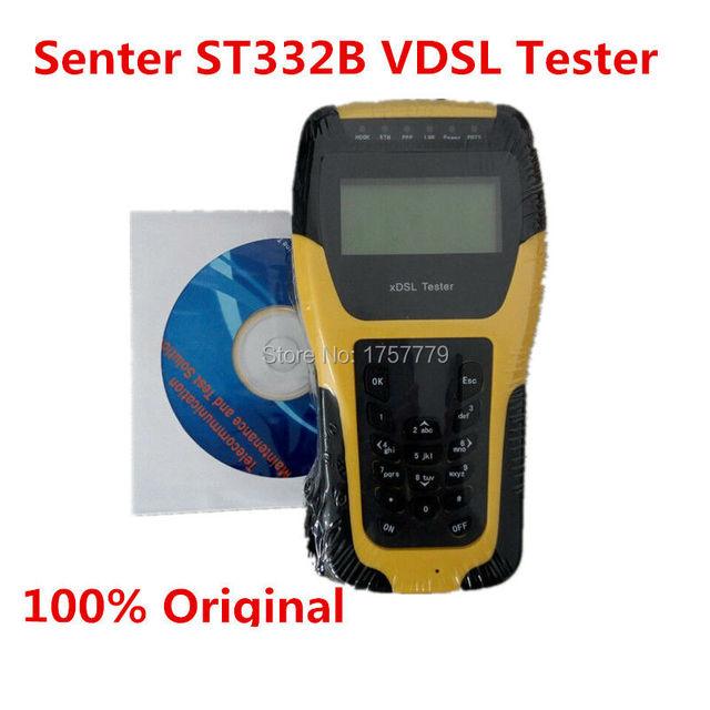 100% Senter ST332B VDSL Tester Tester xDSL WAN y LAN ADSL DSL Línea De Equipos De Prueba prueba de la capa Física