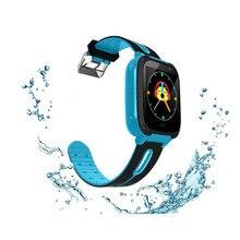 Купить с кэшбэком Smart Watch SOS Kids Anti-Lost Smart Band with Flashlight Camera for IOS Android Children Smart Watches