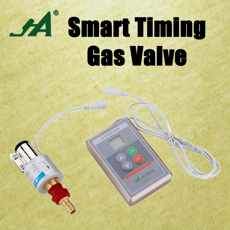 Gsm Alarm Systems Security Home JA8801 Smart cook clock valve actuator Valve Brass ball valve for lpg valves check dn50 ac220v electric actuator brass ball valve cold