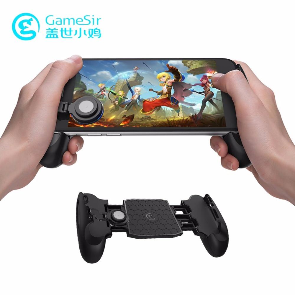 GameSir F1 Teleskop MOBA Gamepad Gaming Gamer Android Joystick Extended Griff Spiel pad für iPhone Xiaomi Huawei Smartphone