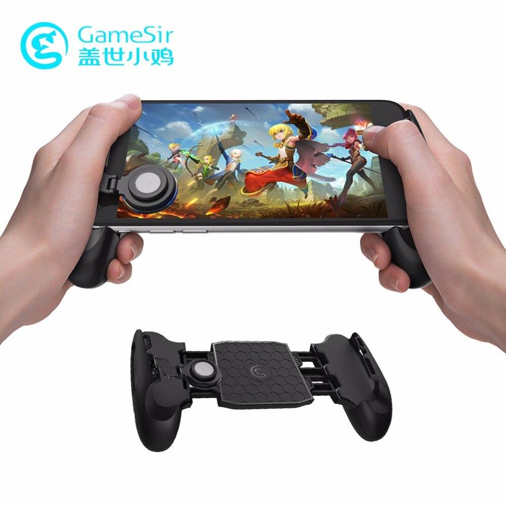 GameSir F1 Télescopique Gamepad de Jeu Gamer Android Joystick Poignée Prolongée Jeu pad pour iPhone X 5S 6 S Xiaomi yi Smartphone