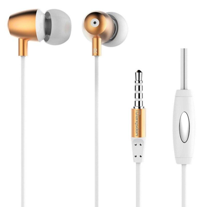 ᐃVoz clara metal-oído 3.5mm Control remoto con micrófono para ...