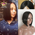 Top Selling Silky Bob Wig Synthetic Lace Front Wigs Mob&Lob Wig For Black Women Synthetic Lace Wigs Heat Resistant Fiber Hair
