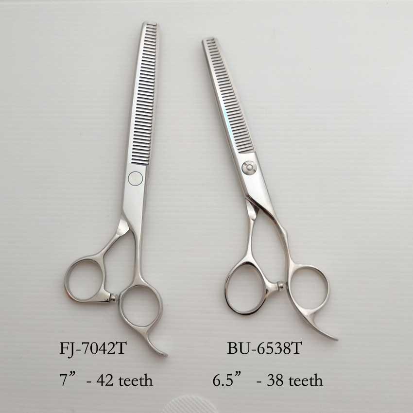 6 5 7 thinning scissors professional high quality Japanese 440C hair scissors