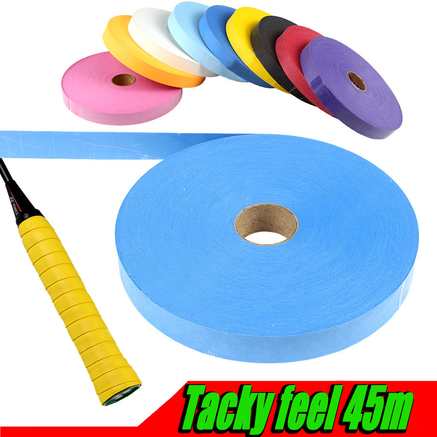 Economical 1reel 45m Tacky Feel Overgrip/grip/badminton/tennis