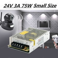 75W 24v 3A Switching Power Supply Driver for LED Strip AC