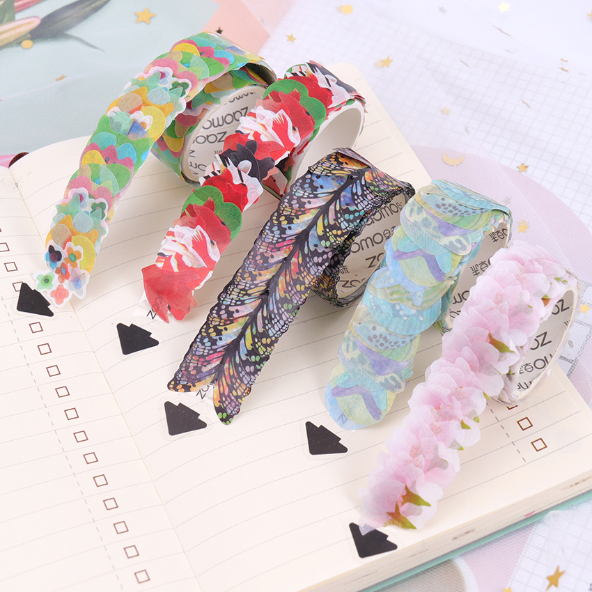 Washi Tapes DIY Sakura Sticker Paper Masking Tape Decorative Adhesive Tapes Scrapbooking Stationery Stickers