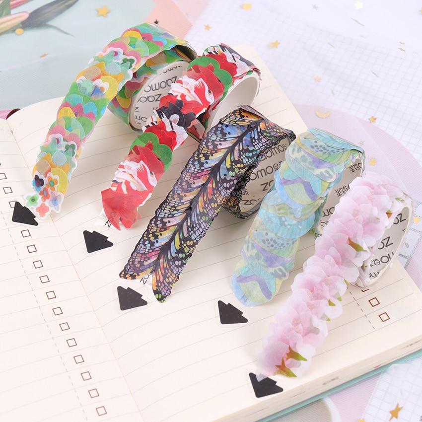 Washi Tapes DIY Sakura Sticker Paper Masking Tape Decorative Adhesive Tapes Scrapbooking Stationery Stickers