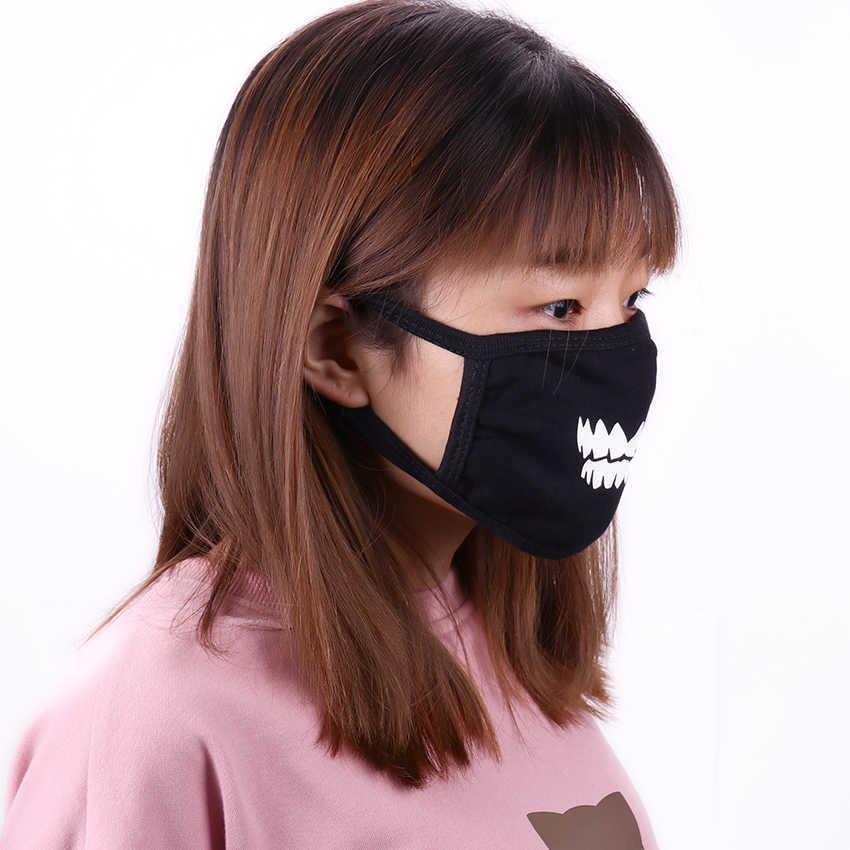 1PC แฟชั่นผ้าฝ้ายป้องกันฝุ่นหน้ากากอะนิเมะการ์ตูน Lucky หมีผู้หญิงผู้ชาย Muffle Face ปาก Facial หน้ากากป้องกัน