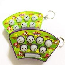 Игрушечный хомяк-головоломка для детей 1-3 лет, звук и легкая музыка, ручная игра, игрушечный хомяк, машина для детей