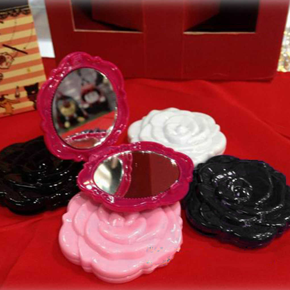 2019 New Women Mini Foldable Mirrors Portable Makeup Cosmetic Mirrors
