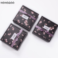 HOHOGOO 25pcs/lot Flower Pattern Gifts Wedding Favor Boxes Baby Shower Candy Boxes Birthday Party Gift Box