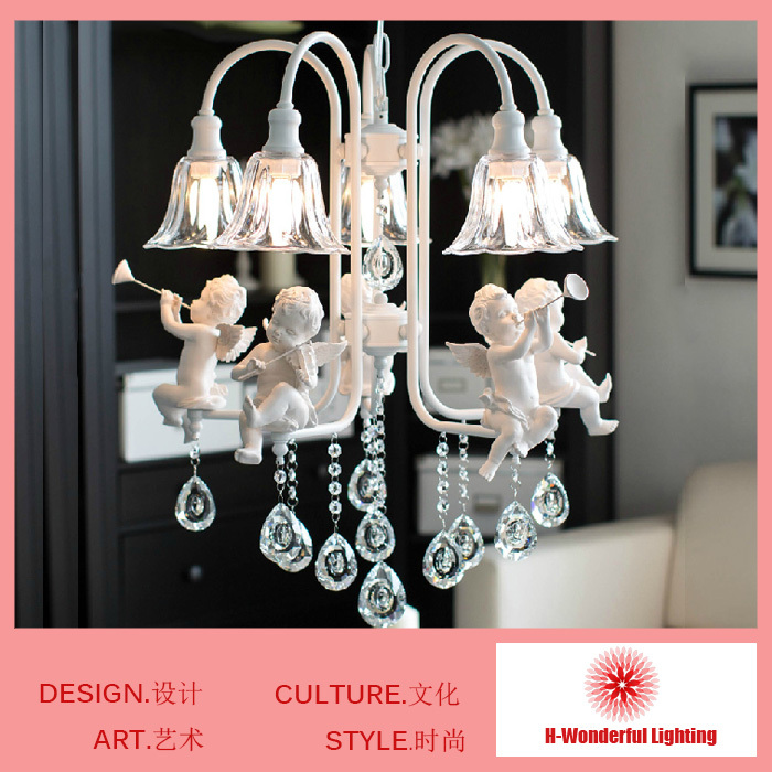2014 New Modern Crystal Chandeliers With 5 Lights Pendant Lamps decoration Lights&Lighting for Living Room Bedroom Dining Room modern led crystal chandelier lights living room bedroom lamps cristal lustre chandeliers lighting pendant hanging wpl222