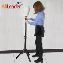 حامل باروكة من Alileader الأكثر مبيعًا على شكل حامل المعرضة لتدريبات الأقوى على حامل الرأس لباروكات الشعر المستعار حامل الرأس طقم صنع باروكة